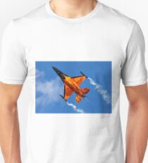 "RNAF F-16AM Fighting Falcon J-015 ""Orange Lion"" T-Shirt"