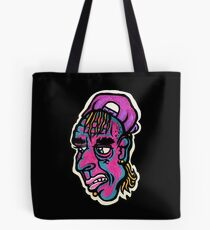 Burnout - Black Background Version Tote Bag