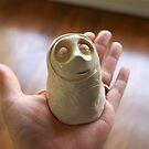 'Little breath' in my hand by Belin
