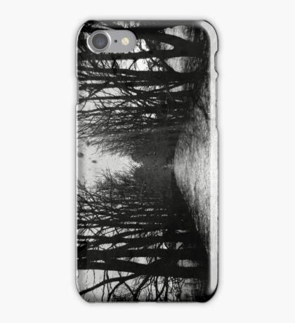 The Shortcut - black iPhone Case/Skin
