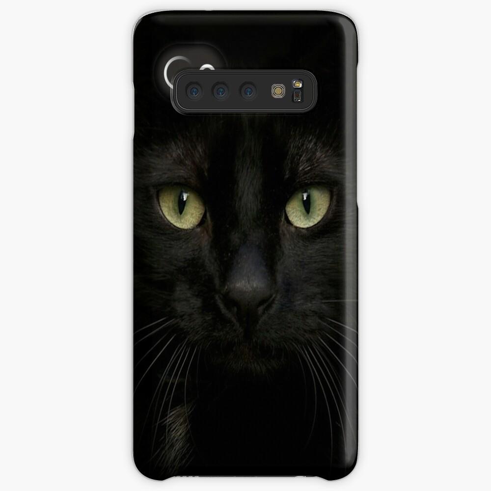 Black on Black.. Case & Skin for Samsung Galaxy