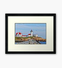 Eastern Point Light Framed Print