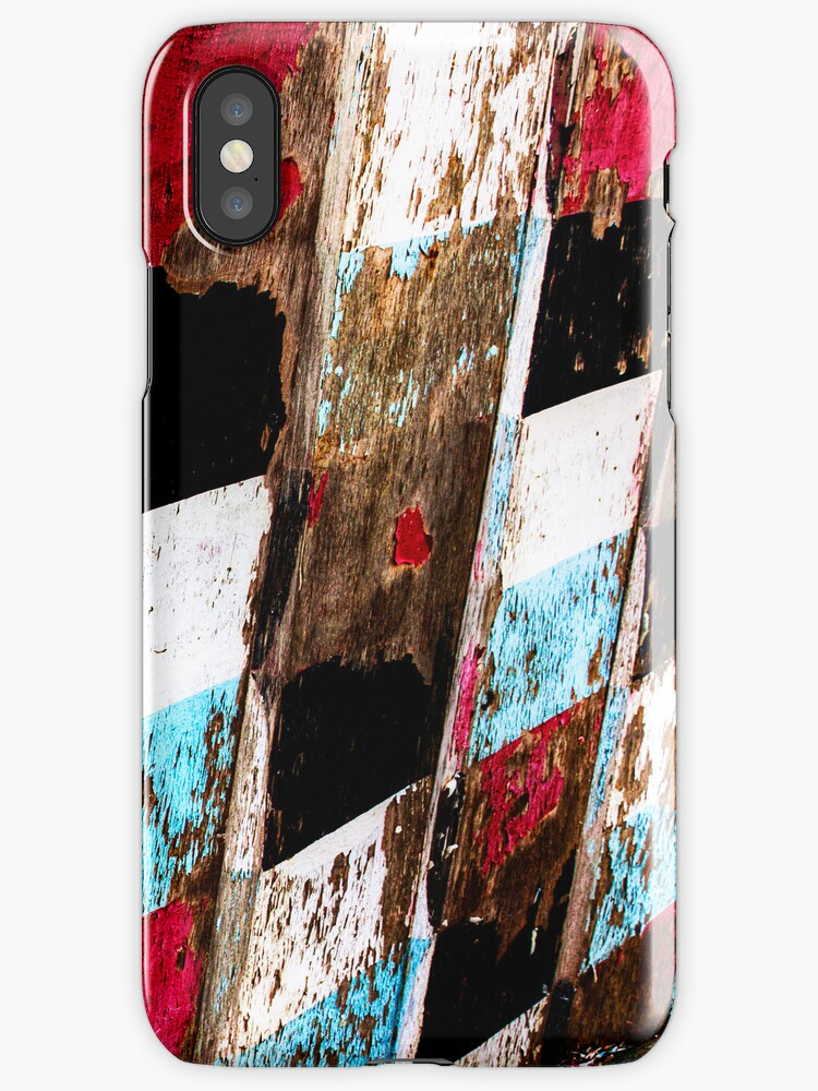 Peeling Paint - iPhone Case by Leon Ritchie