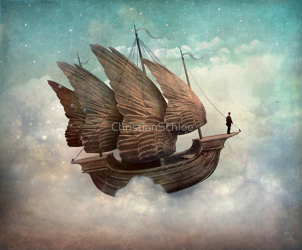 The Flying Merchant by ChristianSchloe