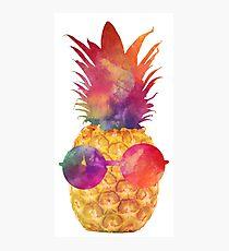 Ananas Fotodruck