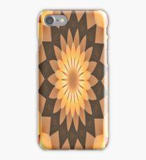 iPhone Case Orange Kalidescope Design iPhone Case/Skin
