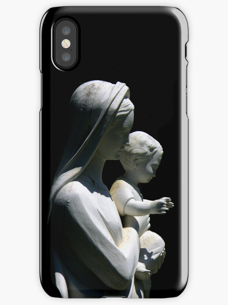 Mother And Child iPhone Case by artisandelimage