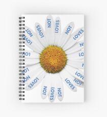 Loves Me? Loves Me Not? Spiral Notebook