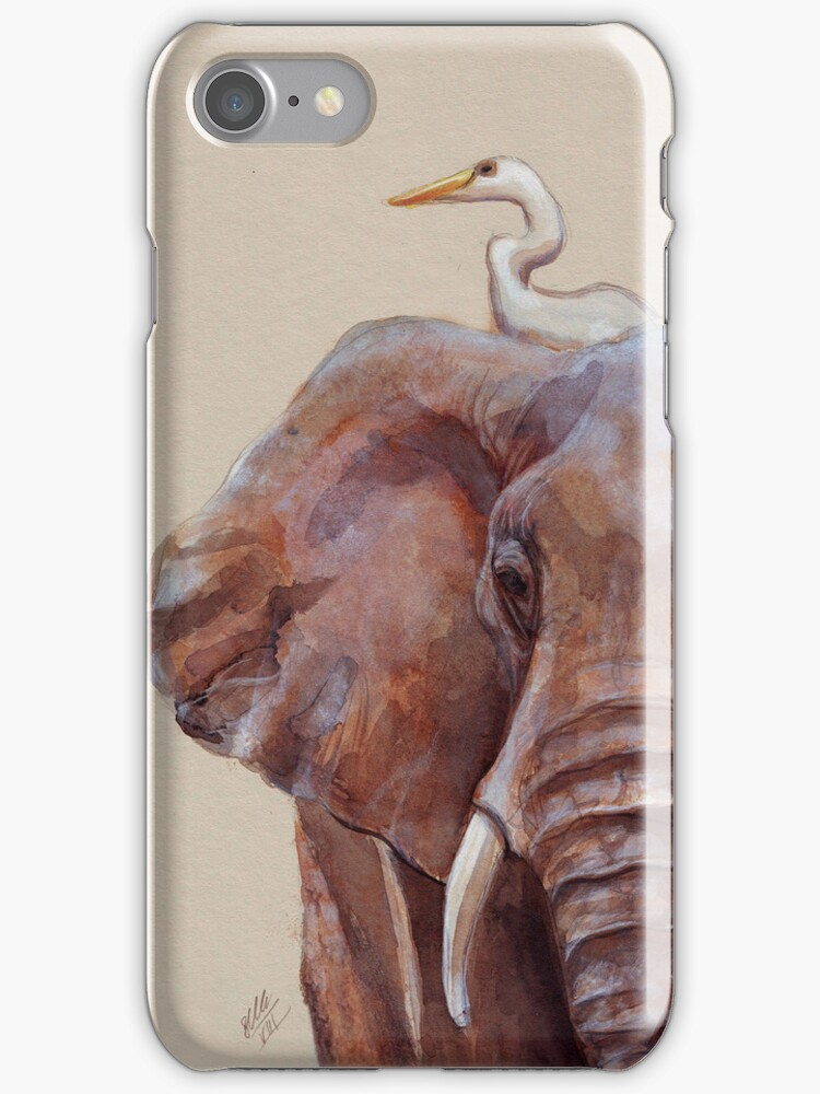 Hitchin' a Ride Iphone Case by Sarah  Mac