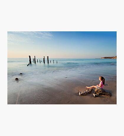 Bask Photographic Print