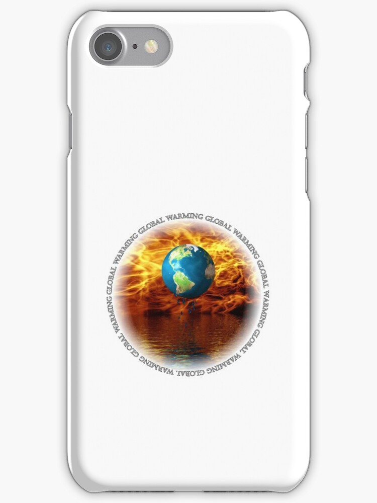 Global Warming White (iPhone case) by jewelskings