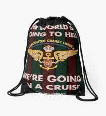 The World Is Going To Hell... Drawstring Bag