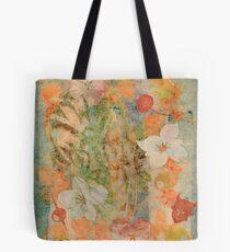 Tiki Flower Tote Bag