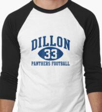 Dillon Panthers Football #33 Men's Baseball ¾ T-Shirt