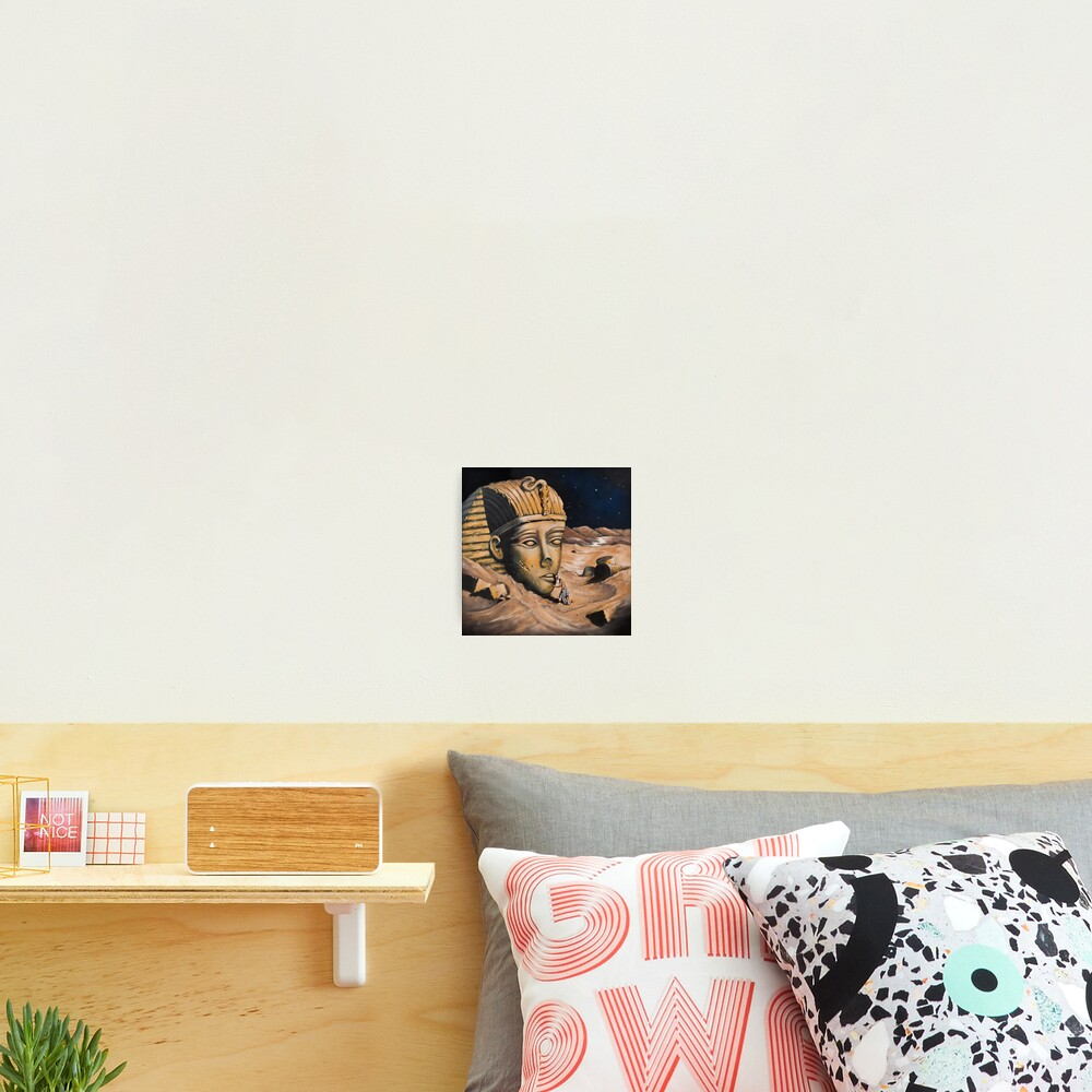 QUESTIONING THE SPHINX Photographic Print