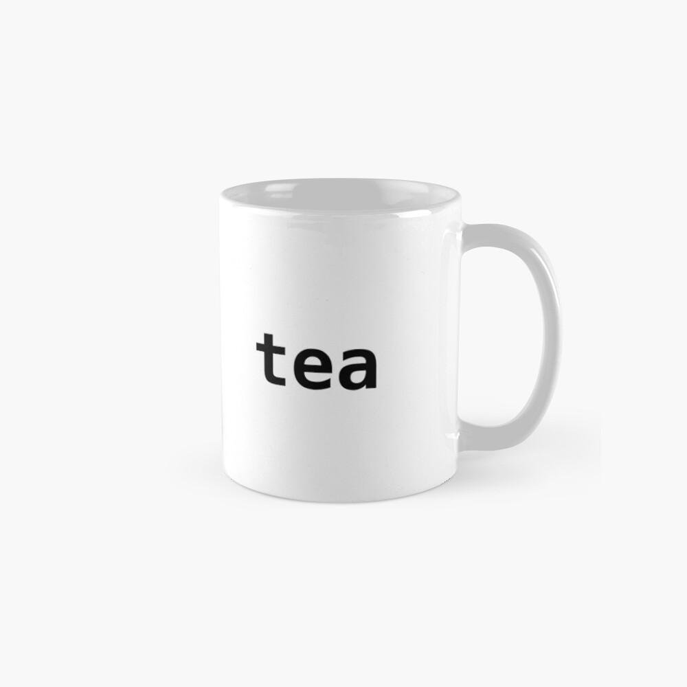 import tea - Funny Python Programmer Mug Mug