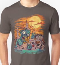 Zombie At The Beach  Unisex T-Shirt