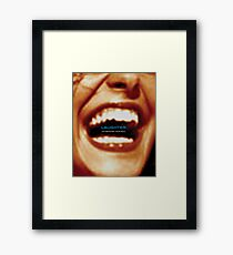 Laughter Oxygenates Your Soul Framed Print