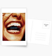 Laughter Oxygenates Your Soul Postcards