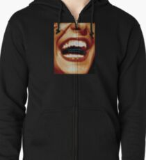 Laughter Oxygenates Your Soul Zipped Hoodie