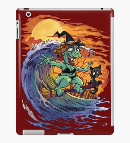 Witch At the Beach iPad Case/Skin