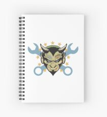 Laughin' With The Devil! Spiral Notebook