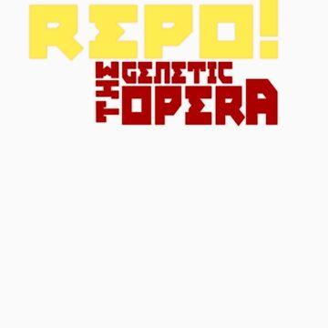 Repo! The Genetic Opera T-Shirt 1 by HarryCane