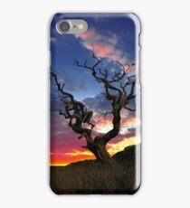 Lone Tree Sunset Case iPhone Case/Skin