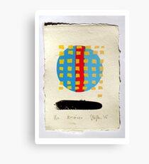 Receiver. (Screen Print - 2015) Canvas Print