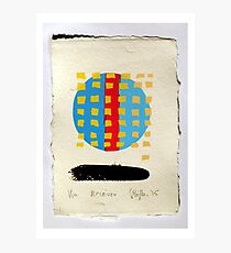 Receiver. (Screen Print - 2015) Photographic Print
