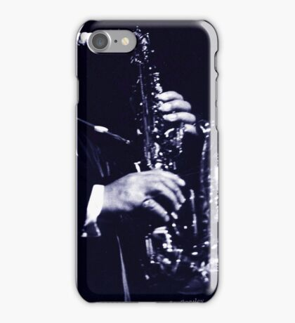 Big Band Sax iPhone Case/Skin