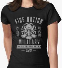 Avatar Fire Nation Women's Fitted T-Shirt