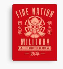 Avatar Fire Nation Canvas Print