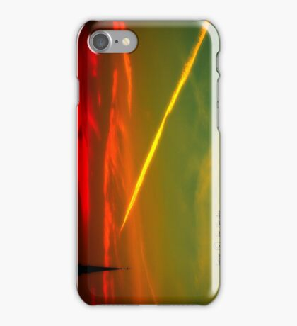 rosso di mattina  iPhone Case/Skin