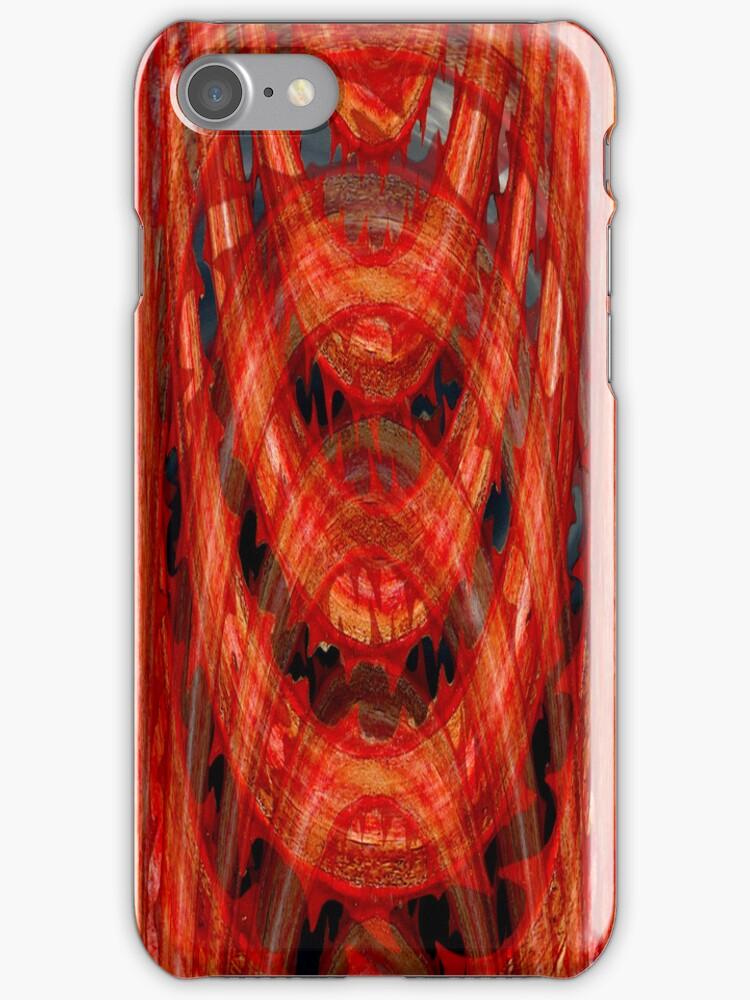 It Bites-I Phone Case by Diane Johnson-Mosley