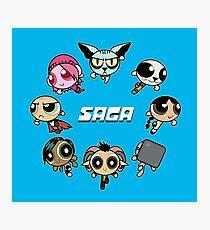 Saga Puffs Parody Photographic Print