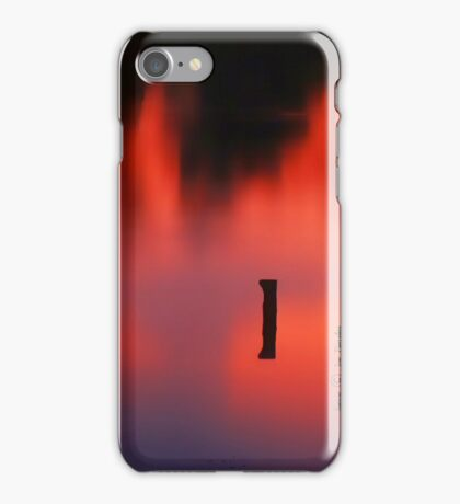 Sunset Reflected in a Pond iPhone Case/Skin