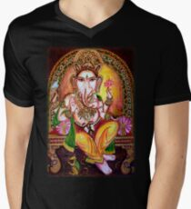 Lord Ganesha Men's V-Neck T-Shirt