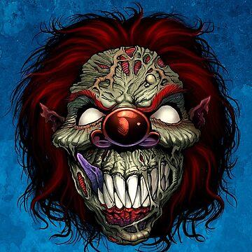 Evil Clown by flylanddesigns
