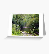 Road to Gatlinburg Greeting Card