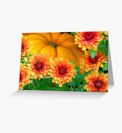Joy of Autumn Greeting Card
