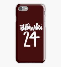 Stiles Stilinski Lacrosse Number - Teen Wolf iPhone Case/Skin