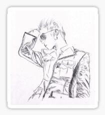 SHINee's Jonghyun: Everybody era Pen drawing Sticker