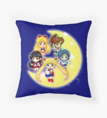 Sailor Senshi Throw Pillow