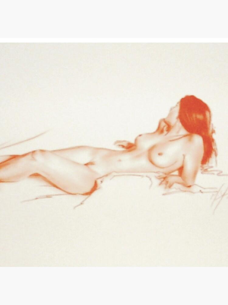 Tommy Reclining, Sketch by melissamyartist