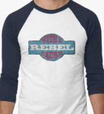 Rebel with a cause Men's Baseball ¾ T-Shirt