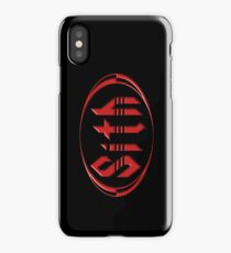 Let Your Anger... Sail Away. iPhone Case/Skin