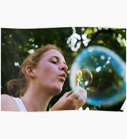 Bubble in a bubble Poster