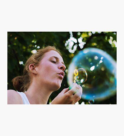 Bubble in a bubble Photographic Print