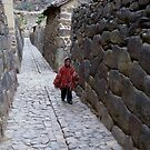Images Of Peru - The People 6 (Walking Where The Ancients Walked) by Rebel Kreklow